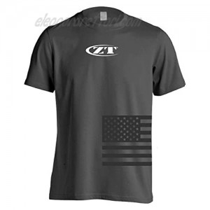 Zero Tolerance Large Charcoal Tee; Available in a Variety of Sizes; Dark Charcoal Gray Tee is Made of 100% Pre-Shrunk Cotton Shoulder-to-Shoulder Taping Double-Needle Stitching and Lay-Flat Collar