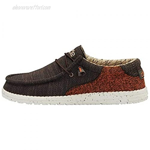 Hey Dude Men's Wally Sox Wave Java Brown Size