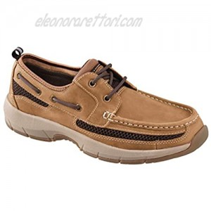 Rugged Shark Men's Boat Shoe Premium Leather and Comfort Meridian Men's Size 8 to 13