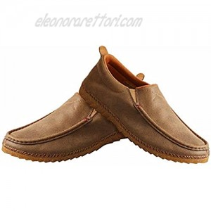 Twisted X Men's Slip-On Zero-X Loafer - Handcrafted Bomber Casual Loafer Shoes