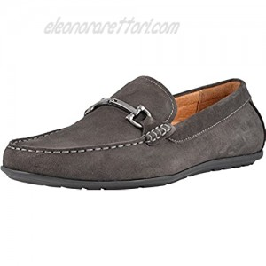 Vionic Men's Mercer Mason Driving Moccasins – Leather/Suede Loafer for Men with Concealed Orthotic Support