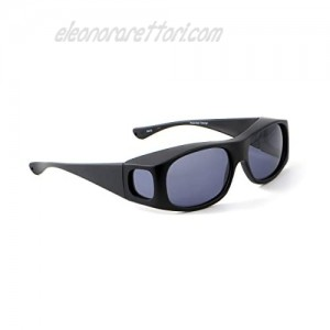 Jonathan Paul Fitovers L Classic Series in Satin-Black and Gray Polarized