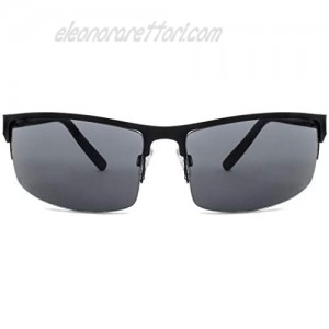 NYS Collection First Avenue Wrap Metal Sunglasses