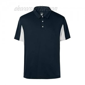 Mens Big and Tall Polo Cool Performance Athletic Golf Shirts for Men Short Sleeve Side Block Plus Size M-5Xl