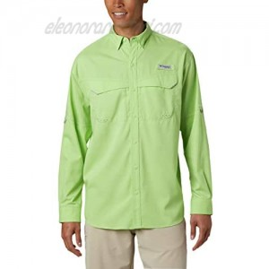 Columbia Men's Low Drag Offshore Long Sleeve Shirt Jade Lime Small