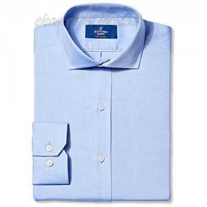 Buttoned Down Men's Fitted Solid Cutaway-Collar Shirt