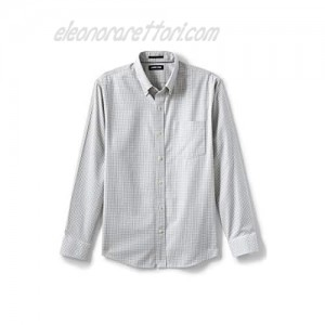 Lands' End Men's Traditional Fit No Iron Twill Shirt